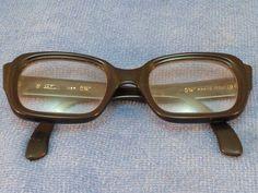 Vintage Safilo Glasses Igor Frames Modernist 1950s Italy Rare Style Thick Black #Safilo