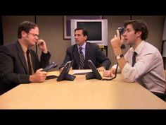 The best acting I remember from the Office. William M Buttlicker The Office Jim, The Office Dwight, Funny Sites, Videos Funny, Office Jokes, Funny Pranks, Funny Humor, Tv Show Quotes, Movie Characters