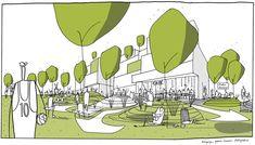 Copenhagen Business School Campus - C.F. Møller - 谷德设计网