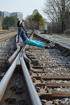 We walked the ENTIRE Atlanta BeltLine in one day. 10 hours! 19 miles! This blogger had to take a minute and relax on some railroad tracks :) Check out the full story, it was an epic excursion.