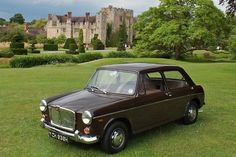 MG 1100 as pictured on cover of MG Car Club's magazine.
