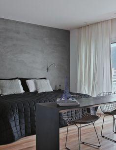 Soft wall texture.