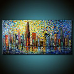 CHICAGO Abstract Painting