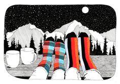 Nová kolekce barevných ponožek SocksInBox už tuto středu