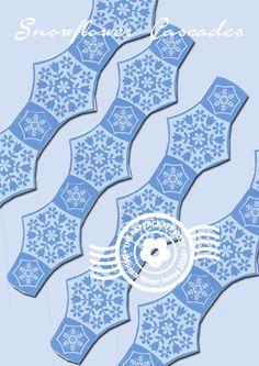 free pdf studio snowflake chains