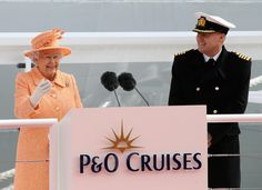 Queen Elizabeth II Photos: Naming Ceremony of P&O Cruise Ship Britannia