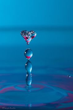 Heart-shaped drop | by François Dorothé