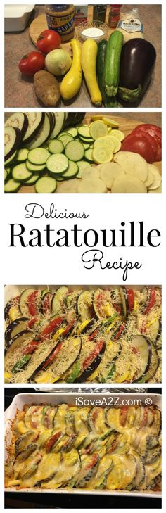 Delicious Ratatouille Recipe that is a MUST TRY! - iSaveA2Z.com