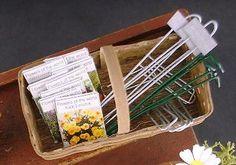 Miniature Garden Accessories by Kathryn Depew  - Miniature Garden Accessories in Basket Tutorial Z