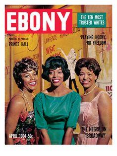 Ebony Magazine Cover 1964 | Ebony April 1964 Lámina fotográfica por G. Marshall Wilson en ...