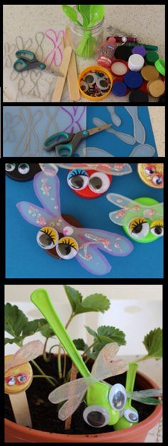 Clay Crafts For Kids Motor Skills - Vintage Crafts To Sell - Disney Crafts Canvas - - Insect Crafts, Bug Crafts, Camping Crafts, Crafts To Do, Crafts For Kids, Arts And Crafts, Nature Crafts, Clay Crafts, Wood Crafts