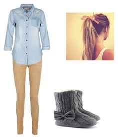 """Untitled #12"" by acacia7777 ❤ liked on Polyvore featuring Current/Elliott, Beulah and H&M"