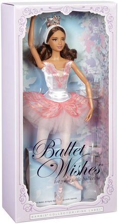Check out the Barbie 2016 Ballet Wishes Doll at the official Barbie website. Explore all our dolls, dollhouses, fashions and accessories today! Paper Dolls Clothing, Doll Clothes Barbie, Barbie Stuff, Barbie Box, Barbie And Ken, Barbie Website, Ballerina Barbie, American Girl Doll Samantha, Dancing Dolls