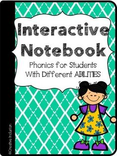 Interactive Notebook For Students with Different Abilities