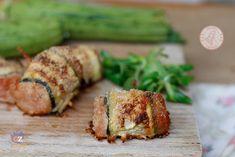 involtini carne e zucchine facili da preparare, gustosissimi, sono preparati con l'impasto delle polpette ma racchiusi in una fetta di zucchine