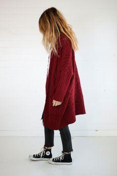 Oversized Blanket Sweater