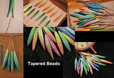 Tapered Beads - series
