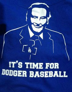 f35854058df7 I remember hearing his iconic voice on the transistor radios as I played  outside! Vin Scully It s time for Dodger Baseball los angeles dodgers