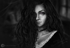 The Witcher: Yennefer from Vengerberg Fan art