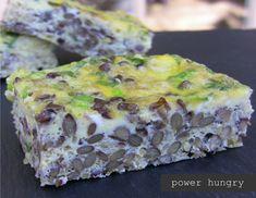 Lentil-Quinoa Frittata Bars