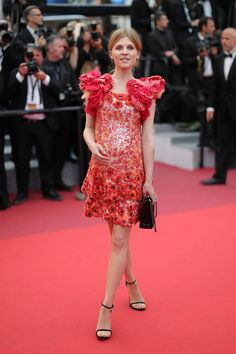 WHO: Clémence Poésy WHAT: Chanel WHERE: Cannes Film Festival closing ceremony, Cannes, France WHEN: May 22, 2016