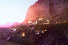 Wadi Rum Resort: Luxury Eco Lodge Built Right Into The Desert Cliffs | Inhabitat - Sustainable Design Innovation, Eco Architecture, Green Building
