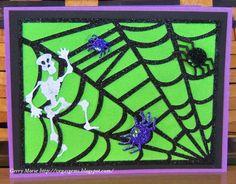 Halloween http://vegasgems.blogspot.com/2014/09/creepy-spiders.html