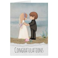 Shop bride and groom sharing vows on beach created by dryfhout. Wedding Tips, Wedding Bride, Wedding Cards, Wedding Venues, Bride Groom, Wedding Invitations, Romantic Scenes, Black Bride, White Sand Beach