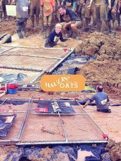 Tough Mudder Kentucky... Cage Crawl.