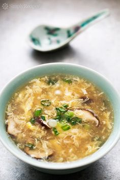 Quick and Easy Egg Drop Soup - This classic Chinese egg drop soup comes together in minutes, with just a few simple ingredients.