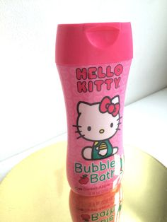 Hello Kitty Sweet Apple Bubble Bath Sanrio 8ozs. #Sanrio