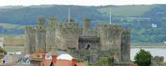 Conwy, constructed by the English monarch Edward I between 1283 and 1289 as one of the key fortresses in his 'iron ring' of castles to contain the Welsh, was built to prompt such a humbling reaction.