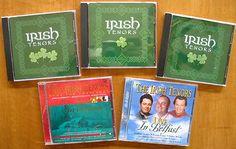 5x IRISH TENORS cds -Live @Belfast +CHRISTMAS imports KEARNS, TYNAN, WRIGHT, McDERMOTT