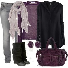 The only thing I would change about this outfit are the jeans & boots but otherwise super cute!!