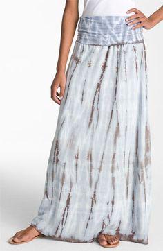 Splendid Tie Dye Maxi Skirt | Nordstrom