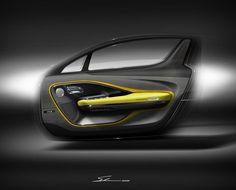 "946 Me gusta, 34 comentarios - HOSEIN.SOLEIMANI (@hosein.soleimani.designworks) en Instagram: "". Aston Martin door trim . #car #automobile #sportcar #sport #gt #luxury #v6 #v8 #future #concept…"""