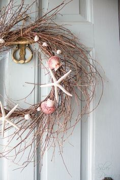 Front Door with Shells