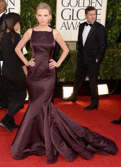 Os vestido do Globo de Ouro   Taylor Swift foto: getty