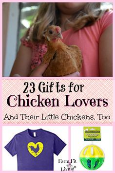 Are you looking for the best gifts for chicken lovers? Here's 23 of the top gifts that anyone who loves chickens would want.