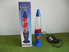 Vintage Superman Lava Lamp