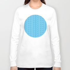 Geometric Optical Illusion Pattern IX by LimenGD | Long Sleeve T-Shirt on Society6. #Clothing #SurfaceDesign #GiftIdeas #PatternDesign