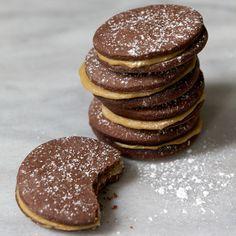 Butterscotch Chocolate Sandwich Cookies  | Food & Wine