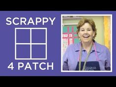 Tutorial: How To Make A Scrappy 4 Patch Quilt! – Crafty House