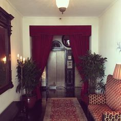 Chateau Marmont West Hollywood Chateau Marmont, Sunset Strip, West Hollywood, Curtains, House Styles, Sd, 1940s, Style Ideas, Room