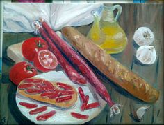 Bon appetit a tous!Всем риятного аппетита. #stilllife #bonappetit #bodegon #arts #arte #naturmort #oils #oilpainting #oleo #pintar #oil #artworks #artwork #food #comida #comer #живопись #рисунки #искусство #натюрморт #масло #еда #приятногоаппетита #арт #картина #cuadros #picture