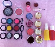 homemade toy makeup- I NEED TO DO THIS!!
