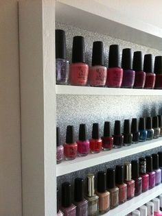 Shop Onine: www.trendwall.at  - Trendwall - Nail Polish Storage - Nagellackregal - Nail Station - #trendwall
