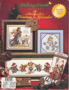 ru / Фото - Book - 200 - A christmas to remember - tymannost Cross Stitch Magazines, Cross Stitch Books, Cross Stitch Needles, Cross Stitch Charts, Cross Stitch Patterns, Cross Stitch Christmas Stockings, Christmas Cross, Diy Christmas Ornaments, Christmas Holidays