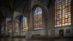 The St Janskerk in Gouda has half of all 16th-century stained-glass windows in The Netherlands.