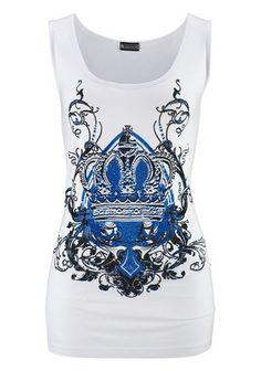 Laura Scott Top im Online Shop von Ackermann Versand Im Online, Sea, Tank Tops, Blue, Shopping, Women, Fashion, Moda, Fashion Styles